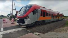 Malbork-Gardeja. Jazda testowa na linii kolejowej 207.