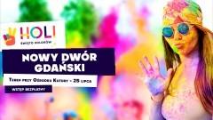 Nowy Dwór Gdański. Daj się ponieść kolorowemu szaleństwu! - Holi Święto Kolorów.