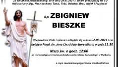 Zmarł Zbigniew Bieszke. Żył 70 lat.