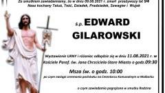 Zmarł Edward Gilarowski. Żył 94 lata.