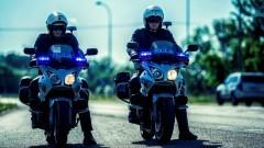 Nowy Dwór Gdański. Służba na motocyklu to nie tylko praca.