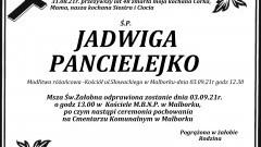 Zmarła Jadwiga Pancielejko. Żyła 48 lat.