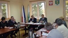 Remont chodnika przy współpracy z Powiatem. X Sesja Rady Gminy Ostaszewo - 3.11.2015