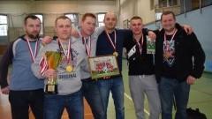 Thermel Doświadczeni zwycięzcą Jubileuszowej II Ligi Żuławskiej Halowej Ligi Piłki Nożnej w sezonie 2015/16 - 13.02.2016