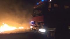 Elbląg/Pasłęk: W pożarze chlewni pod Pasłękiem spłonęło blisko 800 świń. Ogromne straty - 800 tys. zł – 29.02.2016
