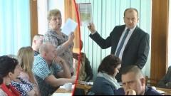 Mirosław Myszka kontra Danuta Hojarska. Będzie sprawa sądowa. XVIII Sesja Rady Miejskiej w Nowym Dworze Gdańskim. (foto, wideo) - 14.04.2016