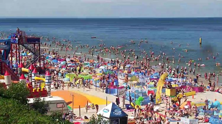 Plaże, morze - kamery internetowe: Wakacje nad Bałtykiem? Nowe Kamery pogodowe on-line już dostępne! Kamery nad morzem - oglądaj plaże i morze w kamerach internetowych