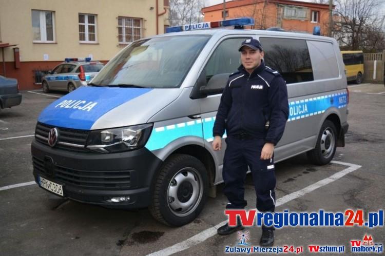 Nowy Dwór Gd. Kolejny nowy radiowóz dla policji - 28.12.2016