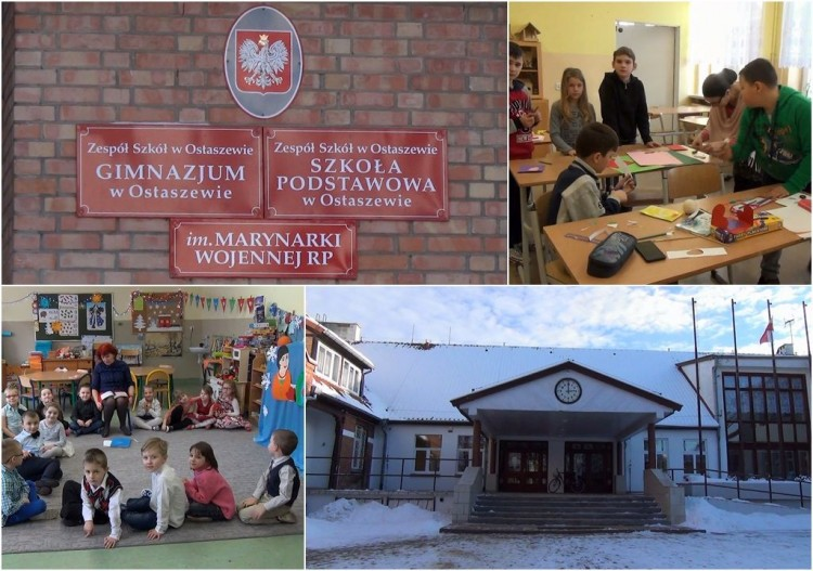 Ostaszewo. 870 tys. na szkołę. Trwa projekt Nowoczesny i innowacyjny Zespół Szkół – 10.02.2017