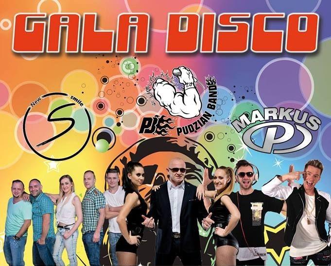 Stegna : Zapraszamy na Galę Disco. Gwiazdami wieczoru będą Markus P & Pudzian Band & New Smile - 16.08.2017