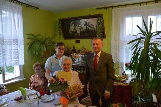 Nowy Dwór Gdański : 94. urodziny Pani Marii Sobczyńskiej - 10.08.2017