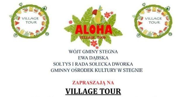 Gmina Stegna : Zapraszamy na Village Tour 2017 - 19.08.2017