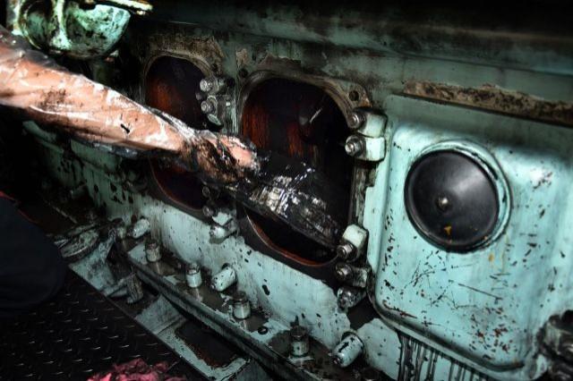 Z Białorusi do Polski przemycali papierosy warte ponad 13 tysięcy w silniku lokomotywy! - 22.09.2017
