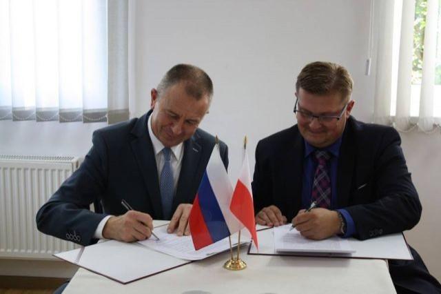 Rosyjska delegacja z miasta Gurjewsk gościła w Ostaszewie - 26.09.2017