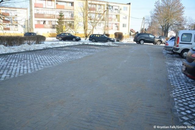 Zakończono remont parkingu w Kmiecinie - 12.02.2018