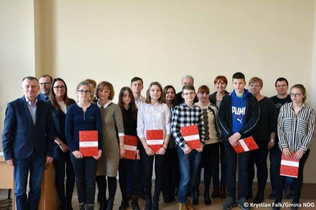 Finał IV Powiatowego Konkursu Matematycznego w Zespole Szkół nr 1 w Nowym Dworze Gdańskim - 20.01.2018