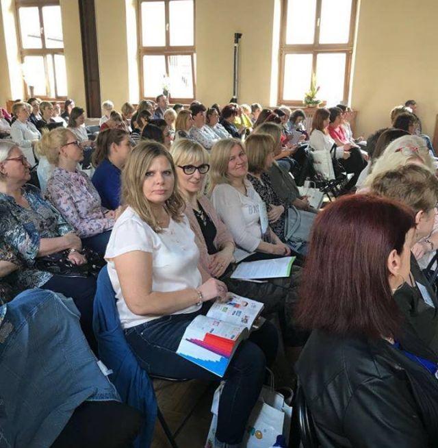 Dyrektor Szkoły Podstawowej w Wiercinach wraz z nauczycielami na Międzynarodowej Konferencji
