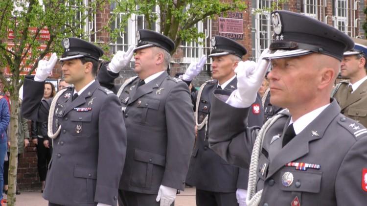 Święto żołnierzy w stalowych mundurach z 22 Bazy Lotnictwa Taktycznego w Malborku.
