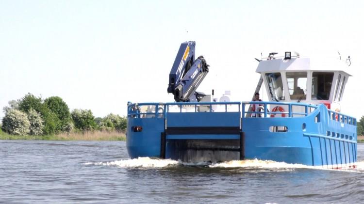Katamaran Techno Marine popłynie do Norwegii. Malborska firma o światowym zasięgu.