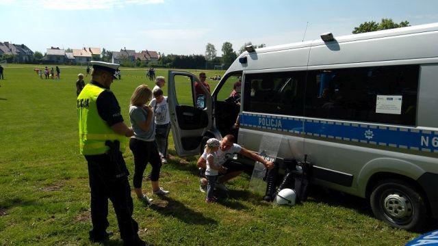 Nowodworscy policjanci wzięli udział w Dniu Rodzicielstwa Zastępczego