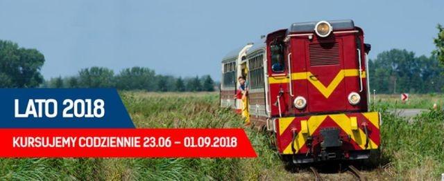 Żuławska Kolej Dojazdowa: Zobacz rozkład na lato 2018