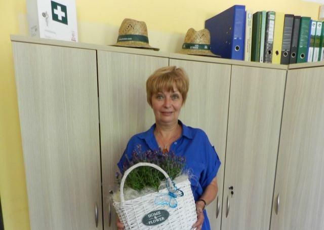Gmina Stegna: Podziękowania dla Pani Anny Galewskiej za wieloletnią współpracę oraz pomoc.