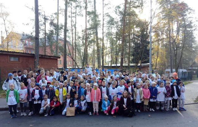 Sukcesy uczniów z ZS w Stegnie podczas III Biegu Niepodległości.