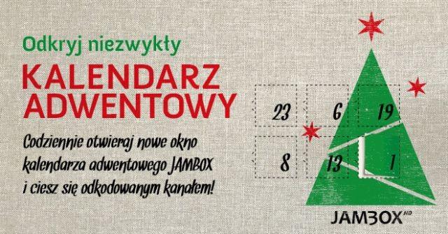 Zapraszamy do świątecznej zabawy z kalendarzem adwentowym JAMBOX