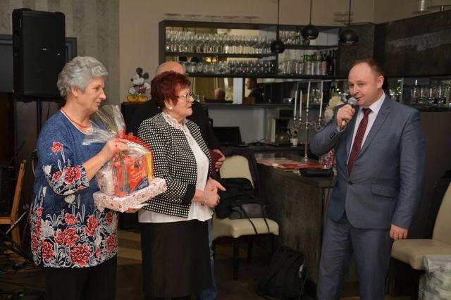 Spotkanie opłatkowe członków Polskiego Związku Niewidomych w Nowym Dworze Gdańskim