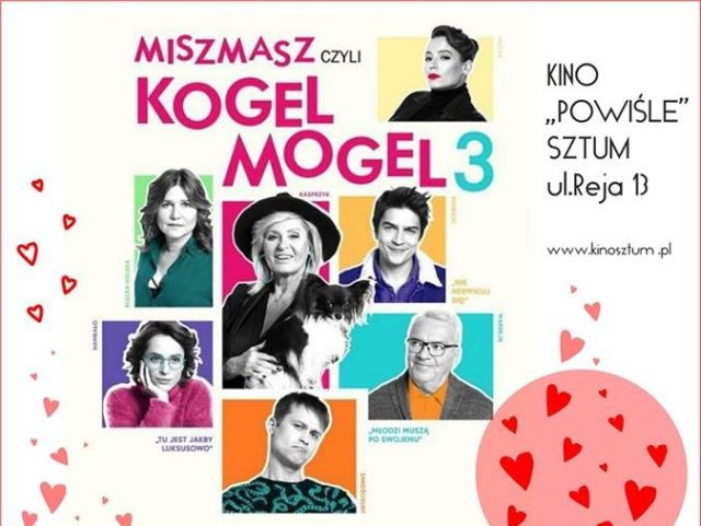"""Sztum: """"Miszmasz, czyli Kogel Mogel 3"""