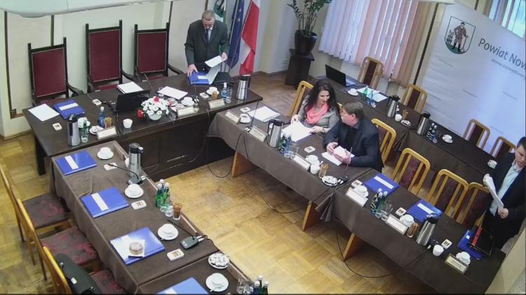 II sesja Rady Powiatu w Nowym Dworze Gdańskim. Na żywo.