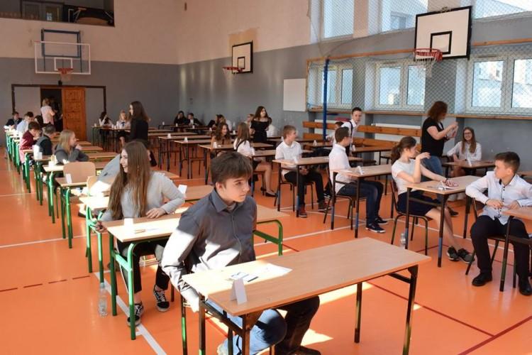 Egzaminy ósmoklasisty w Nowym Dworze Gdańskim.