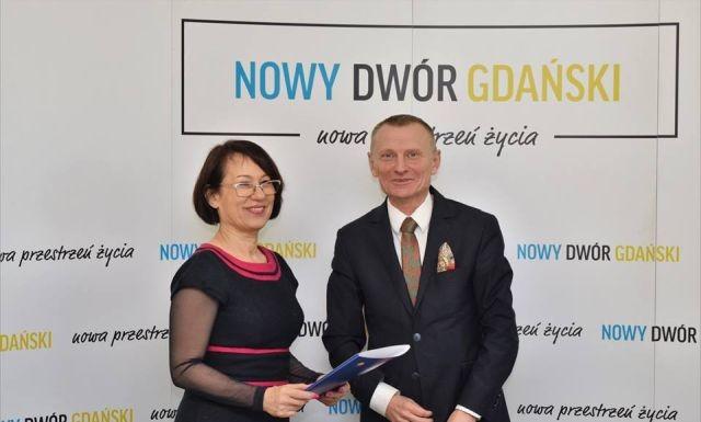 Nowy Dwór Gdański: Remont ulicy Kolejowej - podpisanie umowy