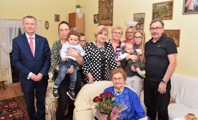 98.urodziny mieszkanki Gminy Nowy Dwór Gdański