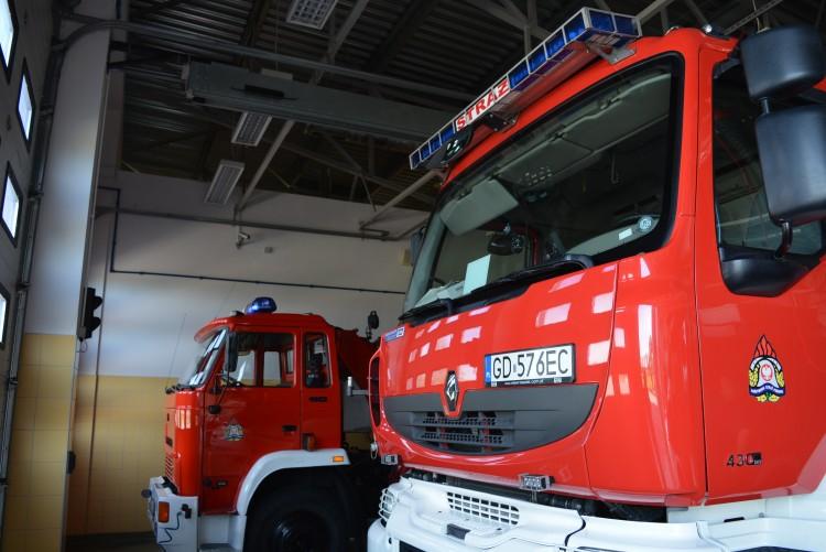 Nagłe zatrzymanie krążenia. Interwencja nowodworskich strażaków.
