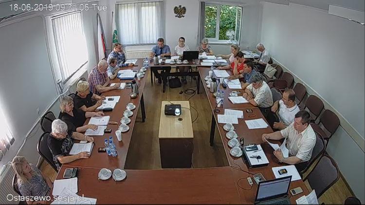 V Sesja Rady Gminy Ostaszewo. Zobacz na żywo.