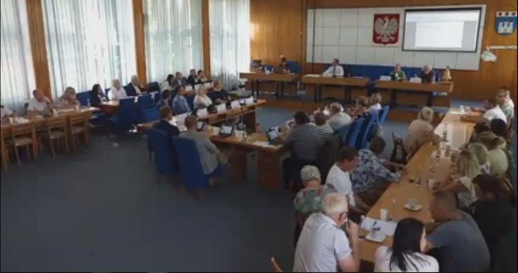 XIII Sesja Rady Miejskiej w Nowym Dworze Gdańskim na żywo