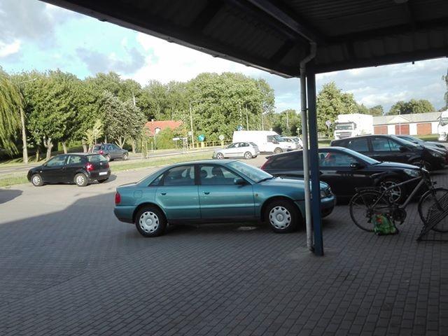 Pośpiech jest zrozumiały, ale bez przesady. Mistrz parkowania z Nowego Dworu Gdańskiego.