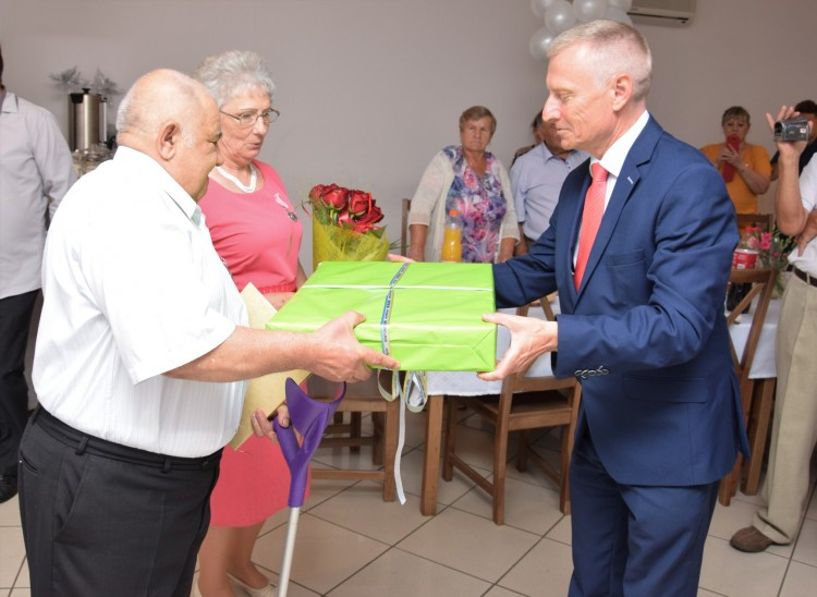 Państwo Elżbieta i Zdzisław Siudak świętują Złote Gody