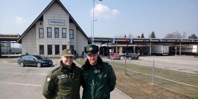 Polscy funkcjonariusze Straży Granicznej z wizytą na granicy mołdawskiej i gruzińskiej.