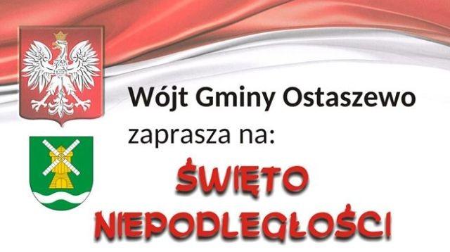 Ostaszewo: Uroczystości z okazji Święta Odzyskania Niepodległości.