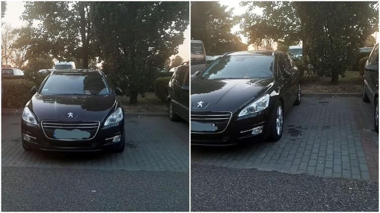 Mistrz (nie tylko) parkowania na Michałowskiego i Rolniczej w Malborku.