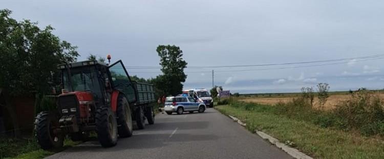 Śmierć rowerzysty – raport nowodworskich służb mundurowych.