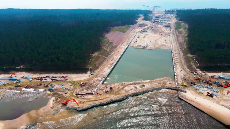 Przekop Mierzei Wiślanej w 4K - Most, śluza, ronda - 40 minut lotu dronem