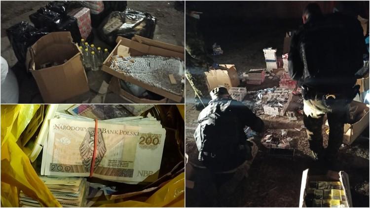 Braniewo. Nielegalne wyroby akcyzowe za ponad 350 tys. zł.