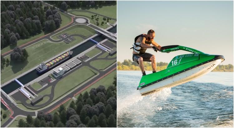 Przekop Mierzei Wiślanej. Czy przez kanał będą mogły przepływać skutery i małe łodzie motorowe?