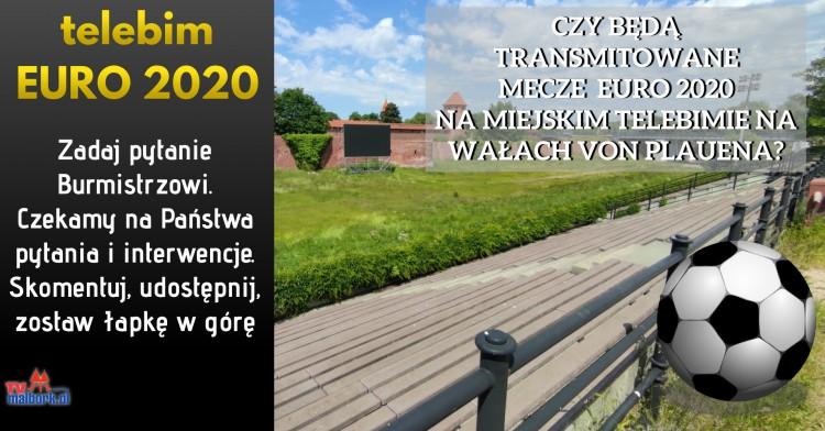 Malbork. Czy mecze EURO 2020 odbędą się na wałach von Plauena? Aktualizacja: Jest odpowiedź Urzędu Miasta Malborka.