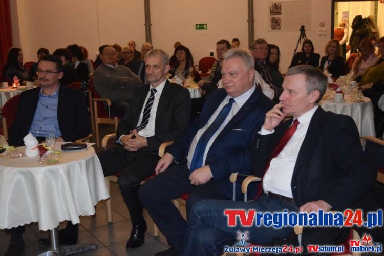 Strategia Rozwoju Lokalnego na 7 lat przyjęta. Spotkanie wigilijne Żuławskiej Lokalnej Grupy Działania - 17.12.2015