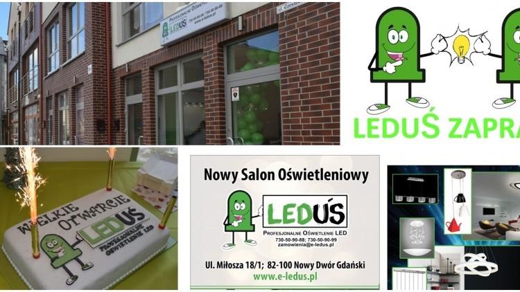 Nowy Dwór Gd. Nowy Salon Oświetleniowy Leduś zaprasza - 28.11.2016