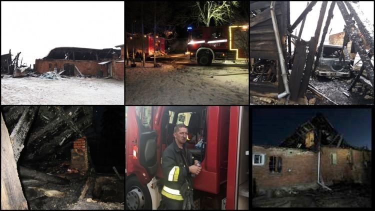 Wspieramy strażaka z Grudziądza. W pożarze z rodziną stracili dorobek…